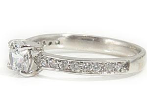 指輪天然ダイヤモンド pt900