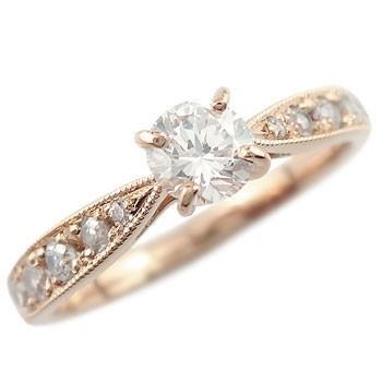 【工房直販】指輪:ダイヤモンド0.44ct:婚約指輪:エンゲージリング:結婚指輪:大粒ダイヤモンド:SIクラス:鑑定書付:特別価格:工房直販