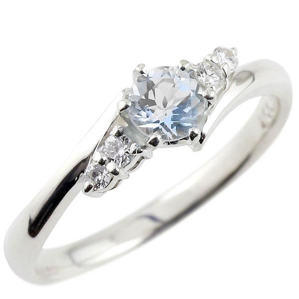 ブルームーンストーン ダイヤモンド リング 指輪 一粒 大粒 ホワイトゴールドK18 ストレート エンゲージリング 婚約指輪 18金