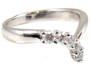 【送料無料】ダイヤモンドリング0.40ctプラチナ900指輪【工房直販】
