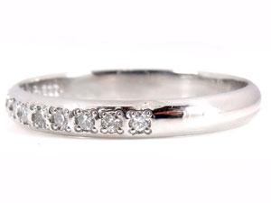 【送料無料・結婚指輪】ピンキーリングプラチナ900ダイヤモンドリング指輪