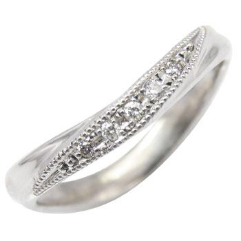 プラチナリング:ダイヤモンドリング:ダイヤモンド0.05ct:指輪