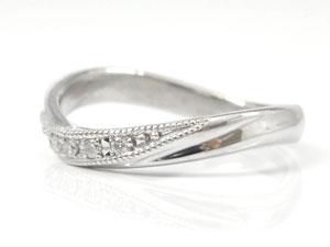 指輪,天然ダイヤモンド0.05ct