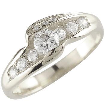 ダイヤモンド プラチナ リング 指輪 婚約指輪 エンゲージリング