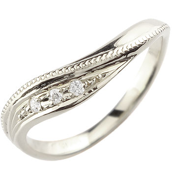 ダイヤモンド プラチナ リング エンゲージリング 婚約指輪