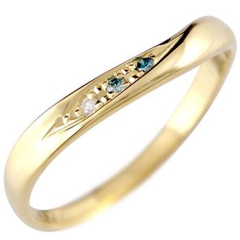 ダイヤモンド リング エンゲージリング 婚約指輪 イエローゴールドk18