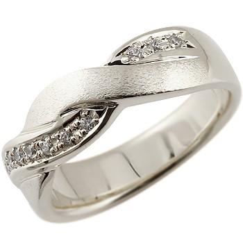 ダイヤモンド プラチナリング ダイヤ 指輪 ダイヤモンドリング 幅広 つや消し pt900
