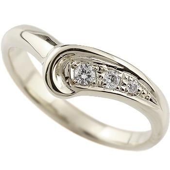 ダイヤモンド プラチナリング 指輪 ダイヤリング ピンキーリング