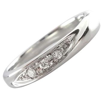 指輪:プラチナリング:ダイヤモンド:リング:ピンキーリング:送料無料:特別価格:工房直販