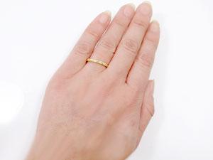 指輪,K18ハワイアンジュエリー【送料無料】