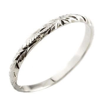 ハワイアンジュエリー プラチナ リング 指輪 ハワイアンリング 地金リング pt900