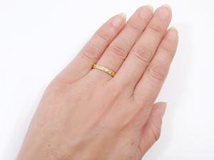指輪,k18,ハワイアンジュエリー【送料無料】
