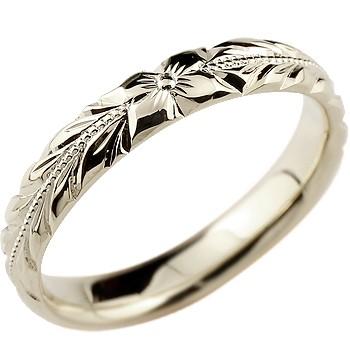 ハワイアンジュエリー プラチナリング 指輪 ピンキーリング 地金リング リーガルタイプ 幅広 宝石なし pt900 ストレート レディース