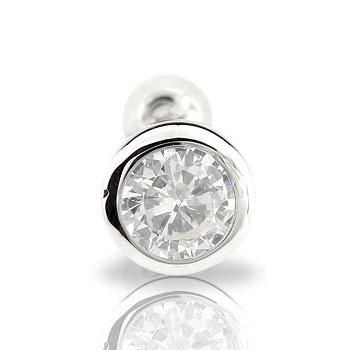 ダイヤモンド0.5ct片方ピアス【工房直販】