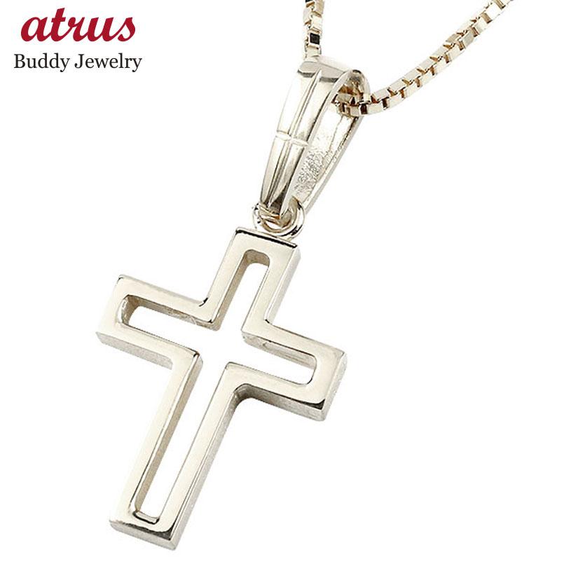 メンズ ネックレス プラチナ ペンダント クロス pt900 チェーン 十字架 人気 コントラッド 東京
