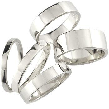 メンズ ホワイトゴールドk18 リング 指輪 ピンキーリング