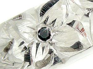 指輪K18WGハワイアンジュエリー