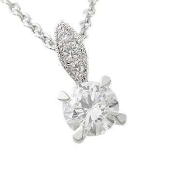 【送料無料】一粒ダイヤモンド:ネックレス:ペンダント:特別価格:【工房直販