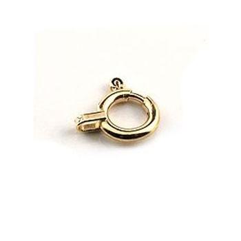 引き輪 接続金具 留め具 パーツ イエローゴールドk10 10金 ネックレス用 ブレスレット用