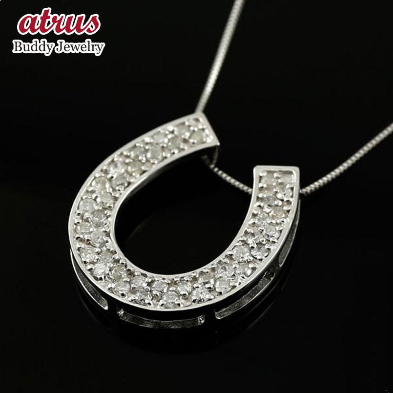 ダイヤモンド ホワイトゴールドネックレス ダイヤモンド ペンダント チェーン 人気 k18