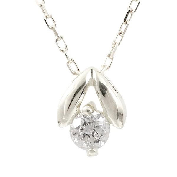プラチナネックレス ダイヤモンド ペンダント レディース プチネックレス ダイヤ pt900 チェーン 人気 宝石