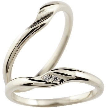 ペアリング ハードプラチナ950 ダイヤモンド 結婚指輪 マリッジリング つや消し pt950