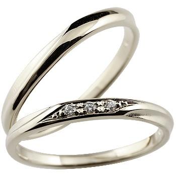 シルバー ペアリング 結婚指輪 マリッジリング つや消し
