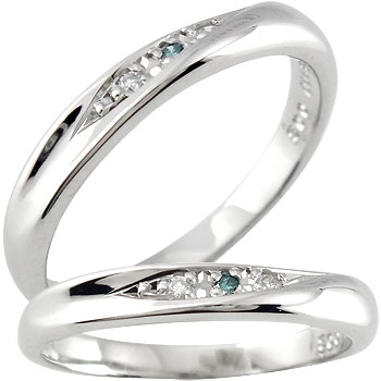 【送料無料・結婚指輪】ペアリングプラチナ900ダイヤモンドリング☆2本セット指輪☆小指用にも【工房直販】商品番号-9063003