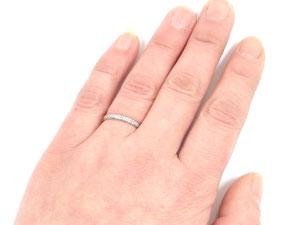 【送料無料・結婚指輪】ペアアクセサリーの中で人気のペアリングk10ダイヤモンド☆2本セット☆指輪