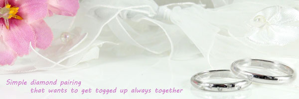 【送料無料・結婚指輪】ペアリングホワイトゴールドk10ダイヤモンド☆2本セット☆指輪【工房直販】
