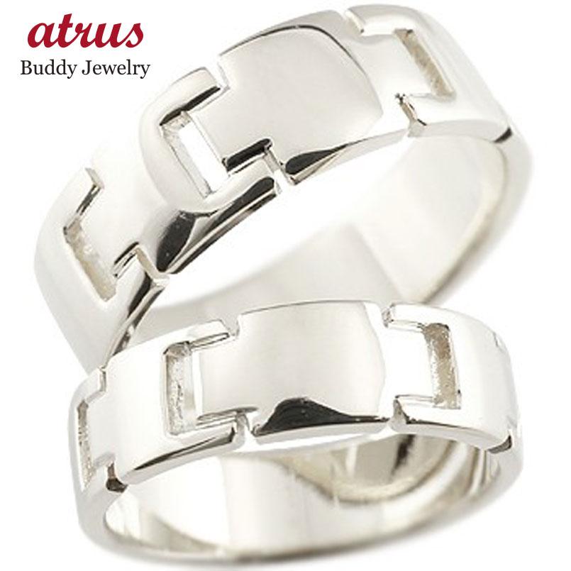 プラチナ ペアリング クロス 結婚指輪 マリッジリング 地金リング 十字架 シンプル 結婚式 宝石なし 人気