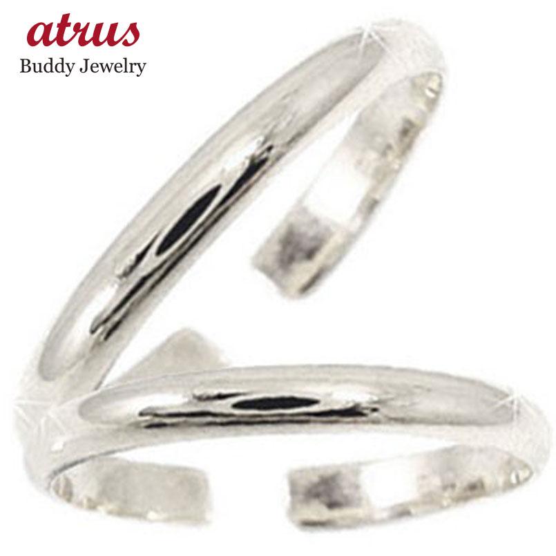 スイートハグリング ペアリング 結婚指輪 マリッジリング ホワイトゴールドk18 フリーサイズリング 指輪 ハンドメイド 結婚式