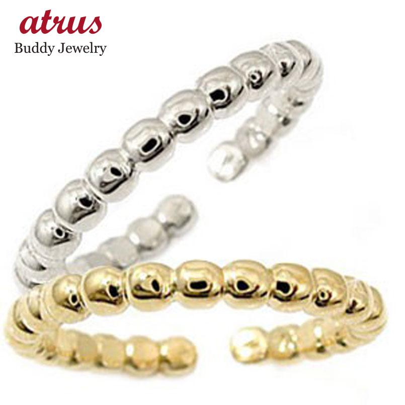 スイートハグリング ペアリング プラチナ 結婚指輪 マリッジリング イエローゴールドk18 フリーサイズリング 指輪 ハンドメイド 結婚式