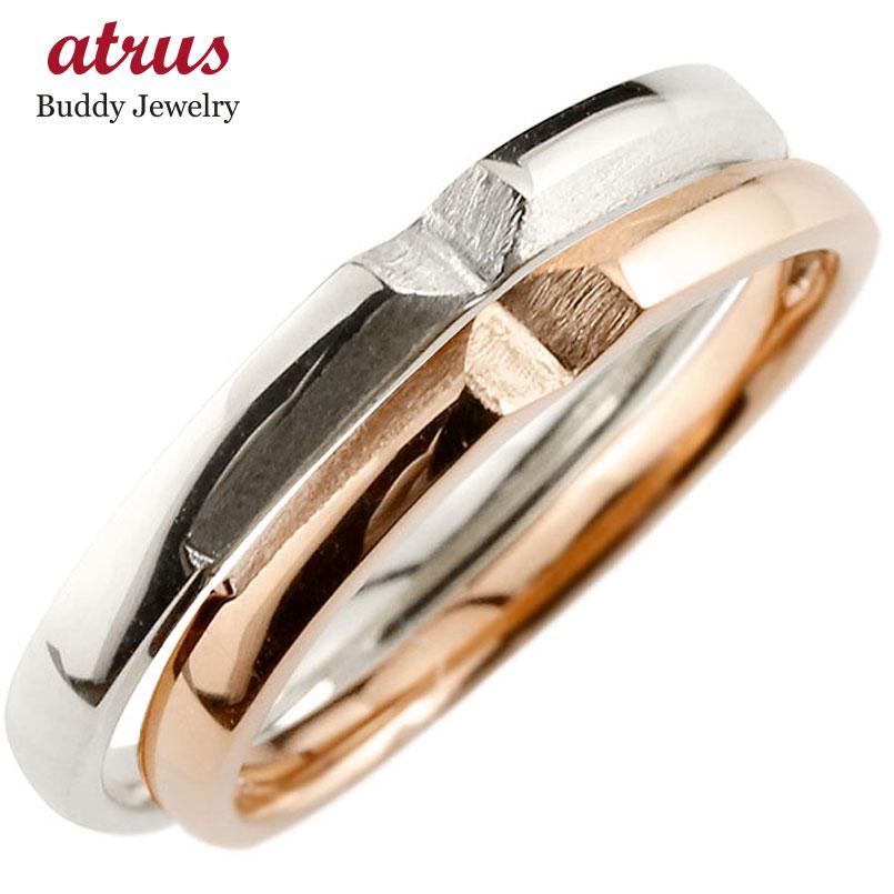 ペアリング プラチナ ゴールド 結婚指輪 マリッジリング つや消し