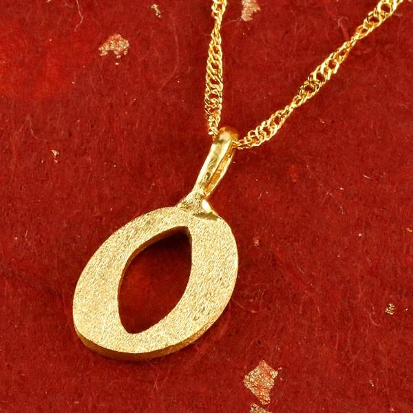 純金 24金 24K 数字 0 ペンダント ネックレス 24金 k24 ナンバー