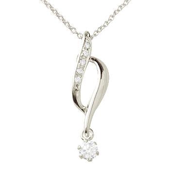 ダイヤモンド プラチナ ネックレス ペンダント