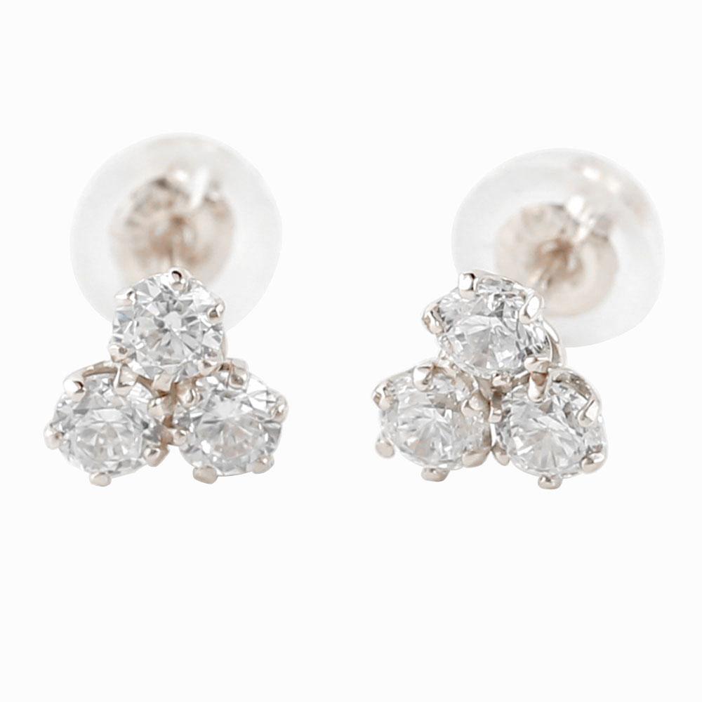 ダイヤモンド ピアストリロジー ホワイトゴールドk18