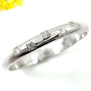 【送料無料】ピンキーリング ダイヤモンド リング プラチナリング 指輪 ダイヤ