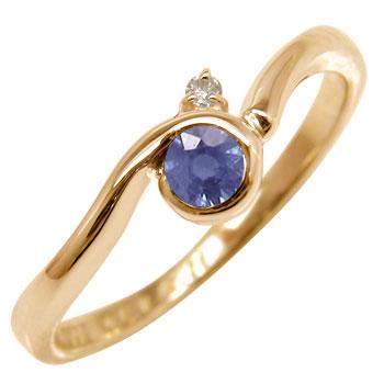 :ピンキーリング:指輪:ピンクゴールドK18