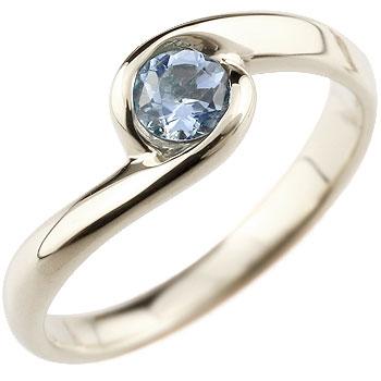 タンザナイト プラチナリング 指輪 スパイラルリング ピンキーリング 12月誕生石