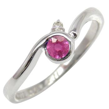 :ピンキーリング:指輪:ホワイトゴールドk10