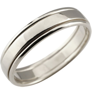 プラチナ リング 指輪 ピンキーリング 地金リング 宝石なし