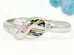 指輪,天然ダイヤモンド,ピンクサファイア