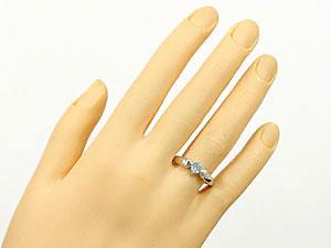 指輪アクアマリンリング