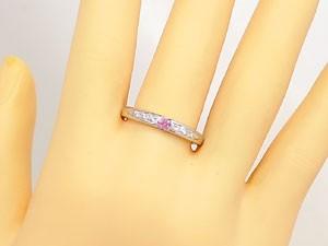 ピンクサファイア 指輪