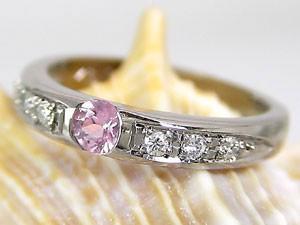 指輪ピンクサファイア
