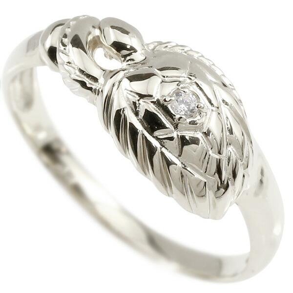 婚約指輪 プラチナリング ダイヤモンド カメ エンゲージリング 指輪 ピンキーリング pt900 亀 かめ 宝石 レディース