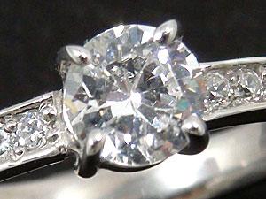 エンゲージリングダイヤモンドpt900
