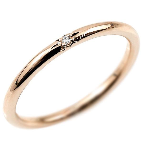 ピンキーリング ホワイトゴールドk18 18金 極細 華奢 スパイラル 指輪