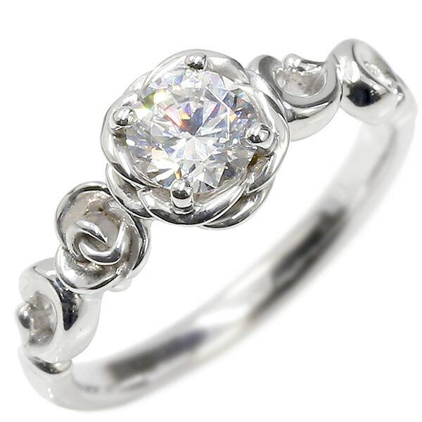 婚約指輪 プラチナリング ダイヤモンド ハート エンゲージリング ダイヤ 一粒 大粒 指輪 ピンキーリング pt900 宝石 レディース